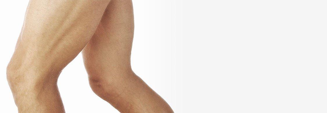 Séance de cryolipolyse pour les cuisses à La Rochelle - Homme | Skin Clinic