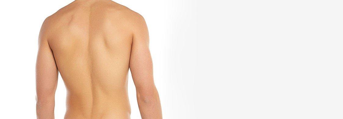 Epilation laser du dos à La Rochelle - Homme | Skin Clinic